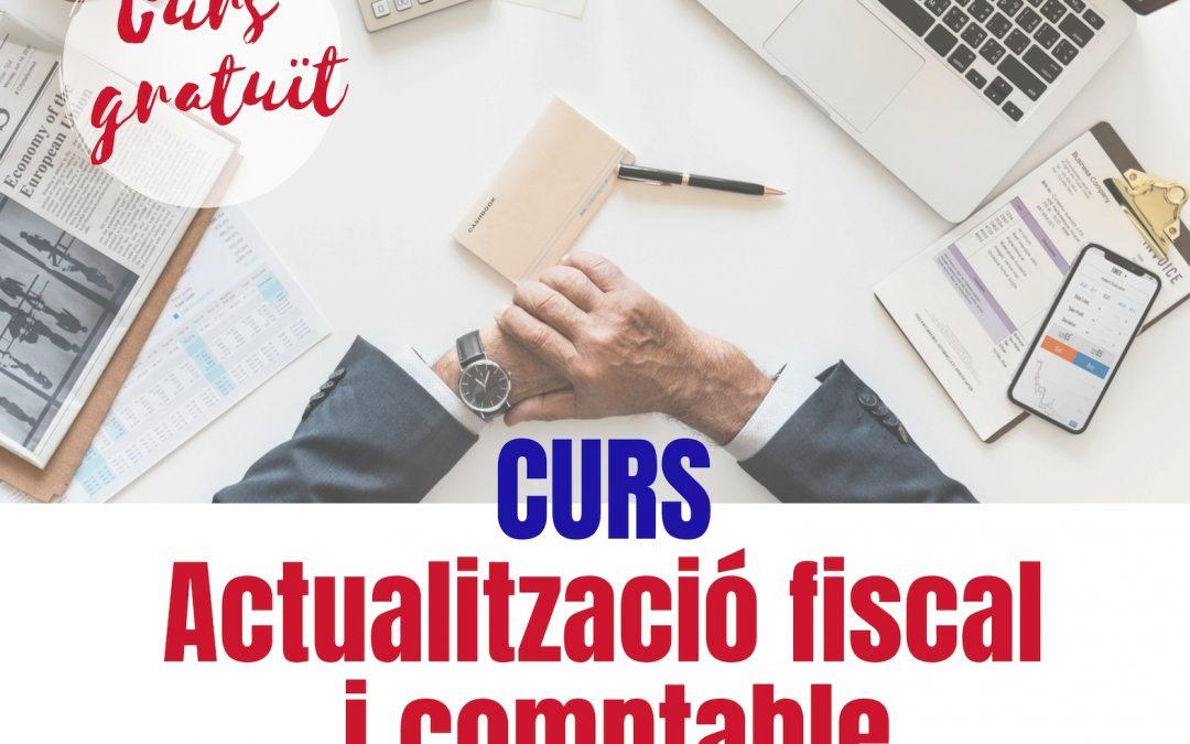 CURS: ACTUALITZACIÓ FISCAL I COMPTABLE/2019