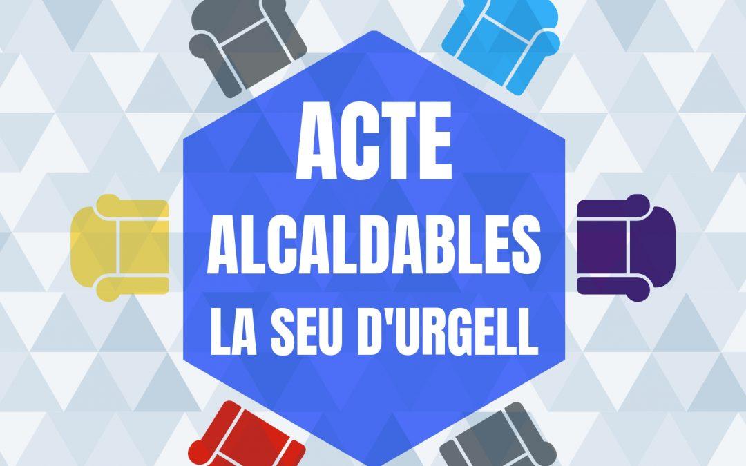 ACTE ALCALDABLES – LA SEU D'URGELL – 7 DE MAIG DEL 2019 – SANT DOMÈNEC