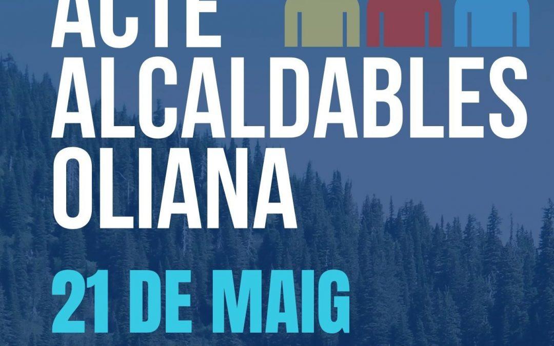 ACTE D'ALCALDABLES – OLIANA – 21 DE MAIG DE 2019 – AJUNTAMENT