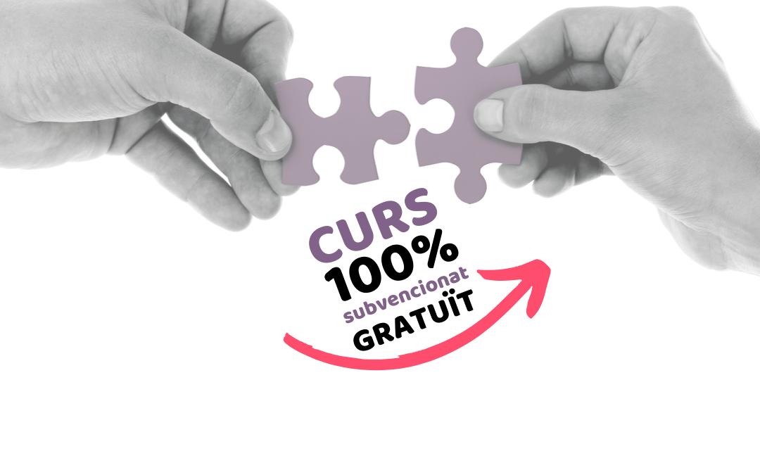 CURS · RESOLUCIÓ DE CONFLICTES · 100% SUBVENCIONAT 100% GRATUÏT