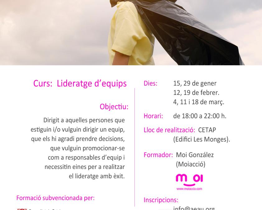 📗CURS DE: LIDERATGE D'EQUIPS👨🎓Moi González · MOIACCIÓ