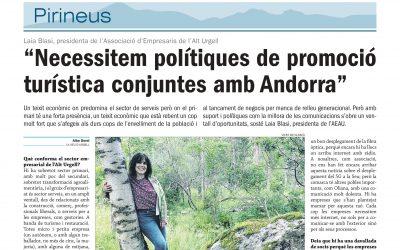 📢 Diari BonDia entrevista a la presidenta de l'AEAU Laia Blasi Cerdà